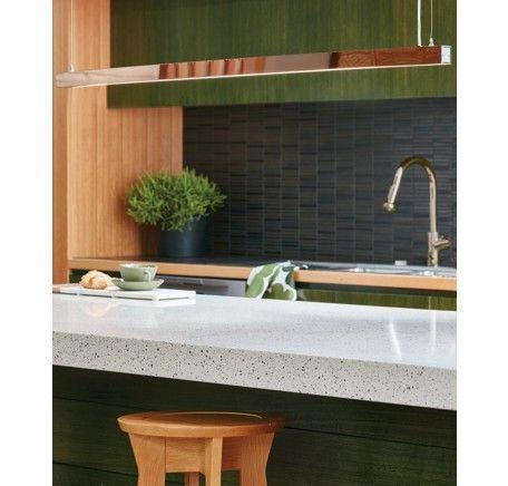 LEDlux Strix LED 1600 Lumen Dimmable Pendant In Copper | Modern Pendants |  Pendant Lights |
