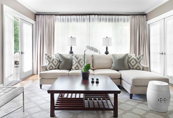 Resultado De Imagen Para Diseno De Cuartos Con Color Blanco Humo Simple Living Room Curtains Living Room Trendy Living Rooms