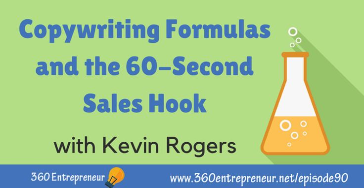 """TSE 090: """"Copywriting Formulas and the 60-Second Sales Hook"""" with Kevin Rogers"""
