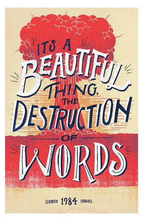 """Millionsmillions:superpreciousgallery:""""Destruction of Words""""Vaughn Fender, CTvaughnfender.com, @vaughnfender11"""" x 17"""" Edition of 4,"""