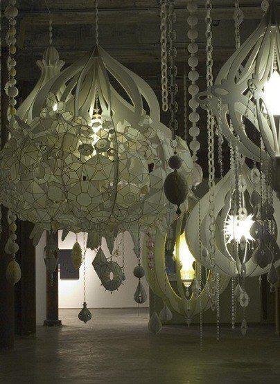 Paper chandelier<3 Like,like <3