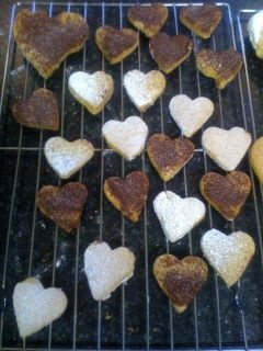 Heart- warming Valentines cookies from the Larder, Carrick on Shannon.  http://www.mycarrick.ie/145/The-Larder