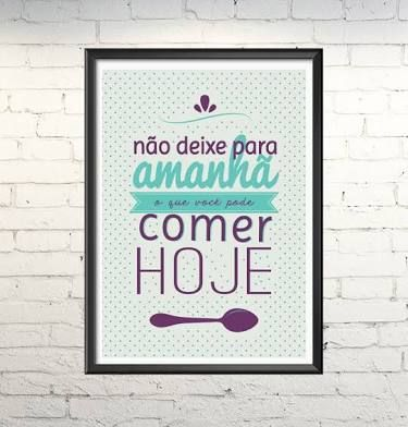 Poster cozinha