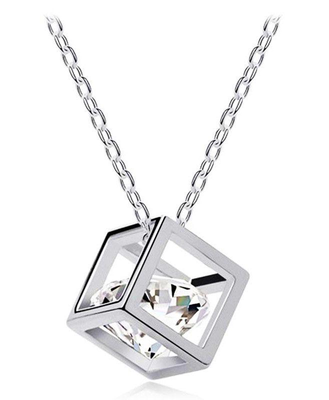 Zircon Cubic Pendant Crystal Float