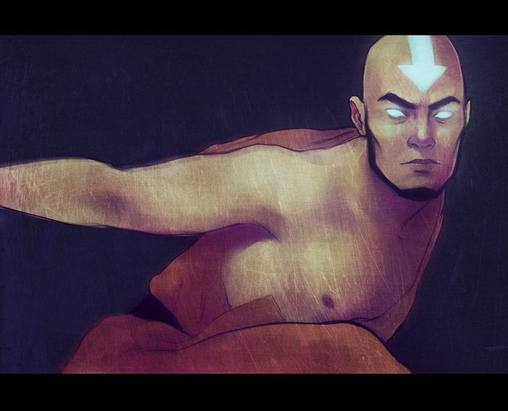 oh older Aang<3 Avatar Aang by *andrahilde on deviantART