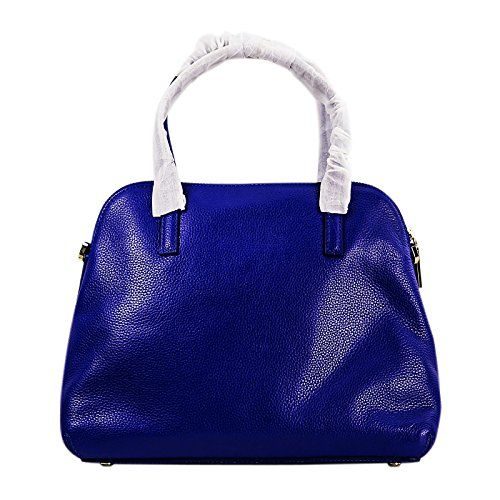Kate Spade Julia Street Maise Leather Satchel in Bright Lapis Blue ** More info could be found at the image url.