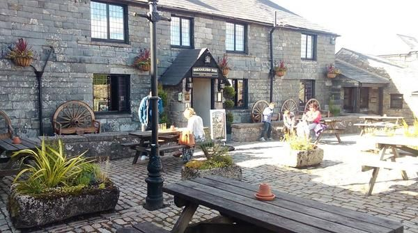 A beautiful morning at Jamaica Inn, Bodmin Cornwall.