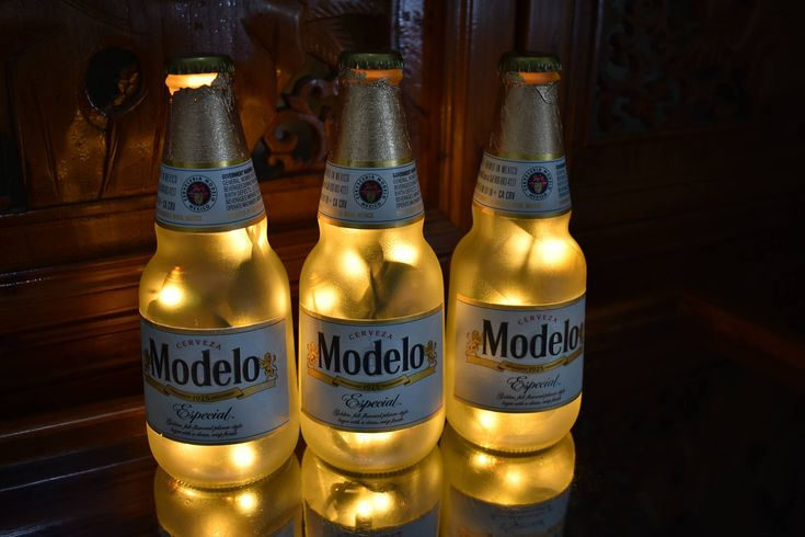 Beer bottle lights 74 pinterest check out the latest addition to my etsy shop modelo especial beer bottle light 3 pack frosted glass yellow lights bar light modelo beer lamp mozeypictures Image collections