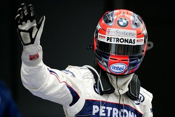 Robert Kubica (POL), BMW Sauber, BMW Sauber F1.08, Japanese Grand Prix 2008, Fuji Speedway, Sunday, 12 October 2008. © Martin Trenkler / Reporter Images