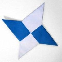 Origami ninja star directions