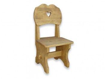 Židle ze smrkového dřeva Mexicana 7