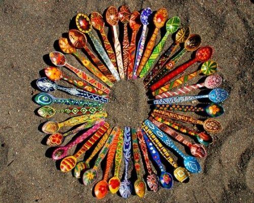 decoracion de cucharillas