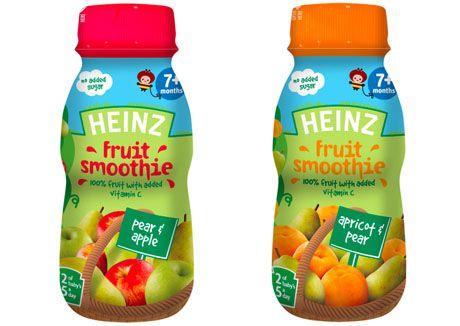 Фруктовые смузи Heinz