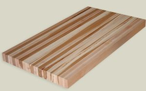 Hickory Countertop - This is what I want to put in my kitchen on the island.