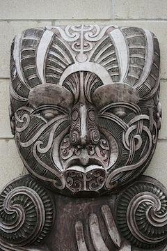 Beautiful Maori carving