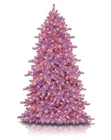 Pastel Colored Artificial Christmas Tree Collection | Treetopia