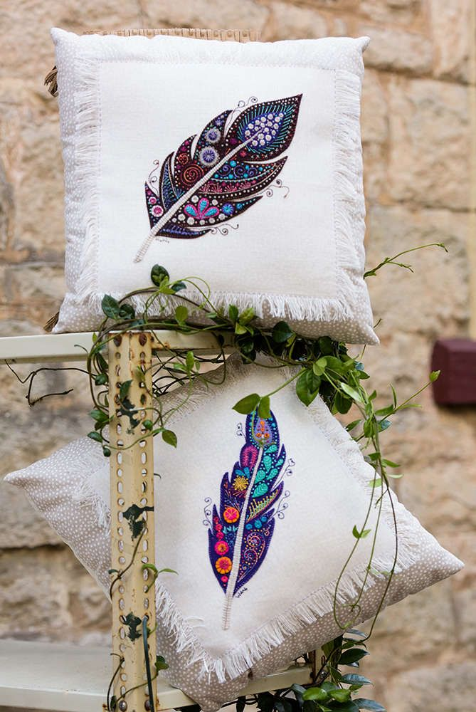 Feather Pillows-Pattern