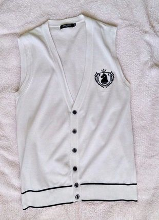Kup mój przedmiot na #vintedpl http://www.vinted.pl/damska-odziez/topy-koszulki-i-t-shirty-inne/17987797-bialy-bezrekawnik-projektu-antony-morato-roz-s-l