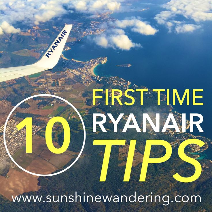 The Best First Time Ryanair Travel Tips! | www.sunshinewandering.com Budget European Airline