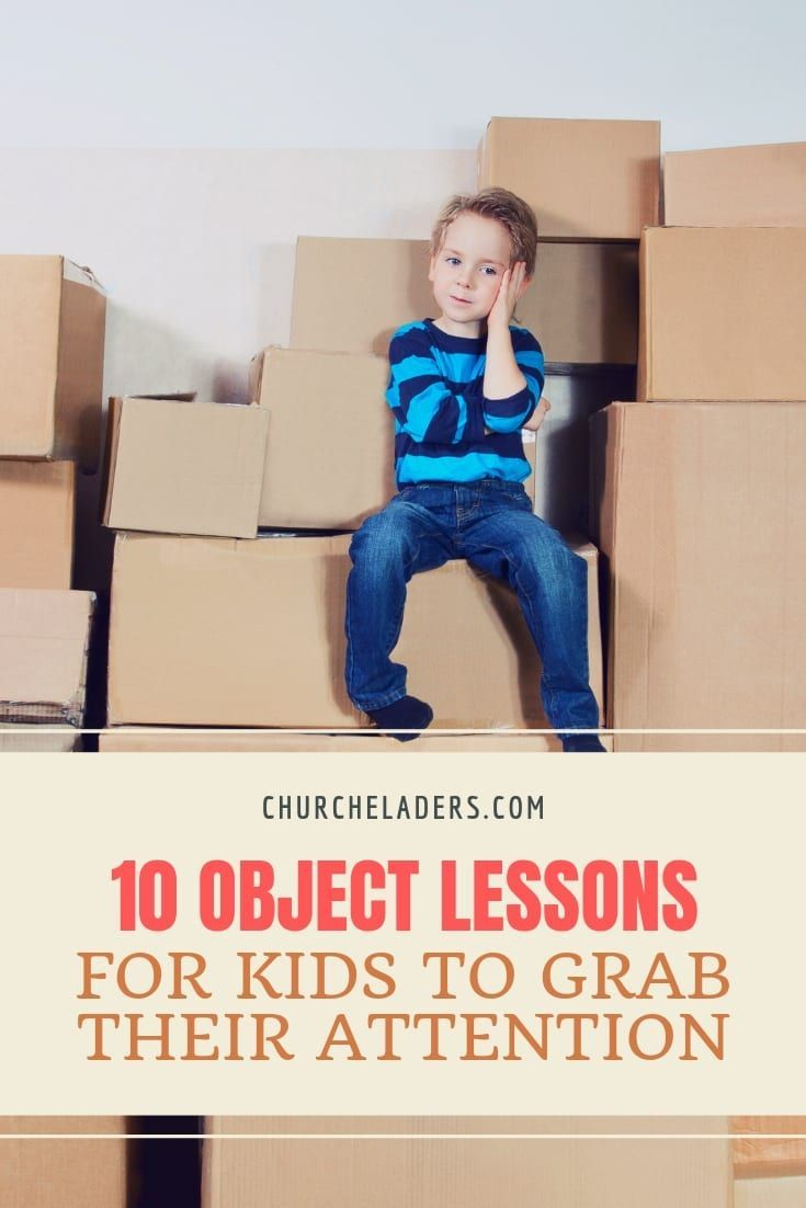 10 Object Lessons for Kids to Grab Their Attention | Children's