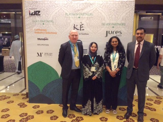 A lovely time at the Hotelier Summit in Doha!