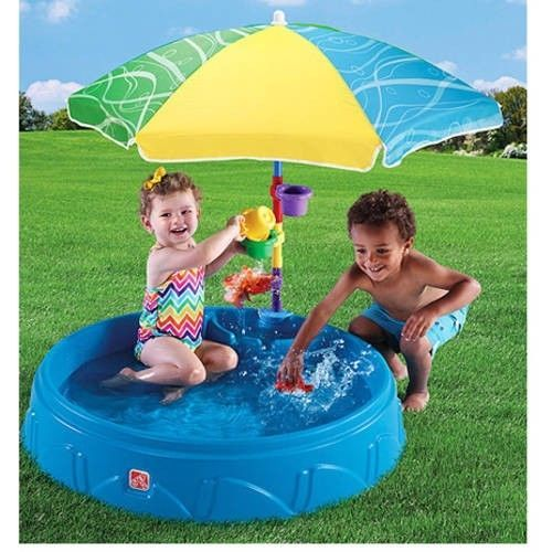 Outdoors Inflatable Swimming Pool Patio Family Garden Kids Umbrella Toy Children #OutdoorsInflatableSwimmingPool