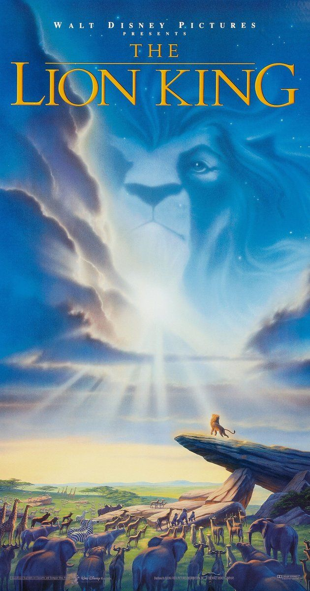 The Lion King (1994) (10/10) One of my favourite films that I haven't watched in a while. The film is perfect, the story, the voice acting and the songs! The opening song Circle of Life gives me little chills when i hear it. Hakuna Matata is one of my favourite sayings... means no worry's ;) I always have to pull back a tear or two when Mufasa is killed, damn you Scar!! A film i'll always watch and enjoy.