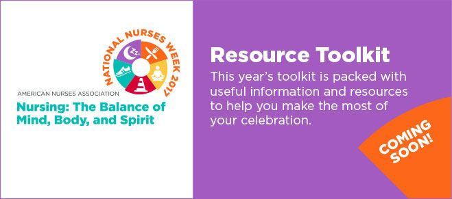National Nurses Week 2017: Resource Toolkit