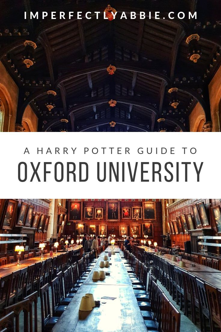 Harry Potter Guide To Oxford University Harry Potter Tour University Guide Harry Potter Travel