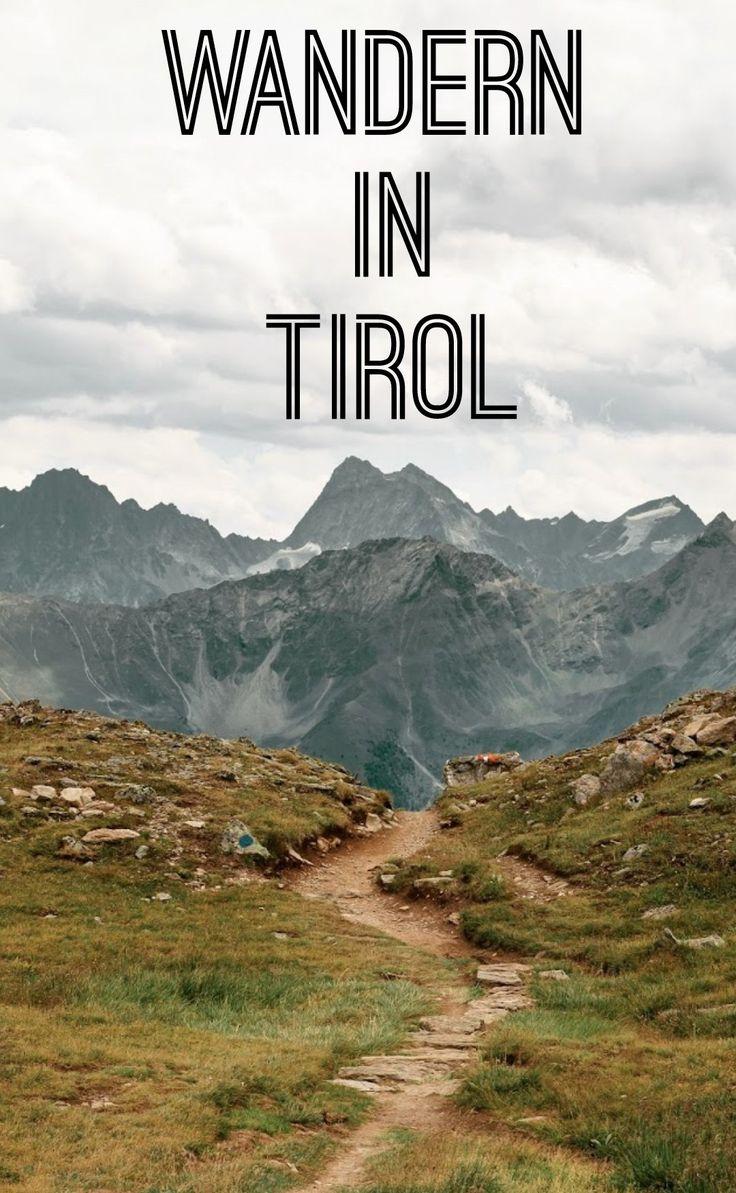 Wandern Tirol - Alpenrosensteig Wanderung in Serfaus Fiss Ladis