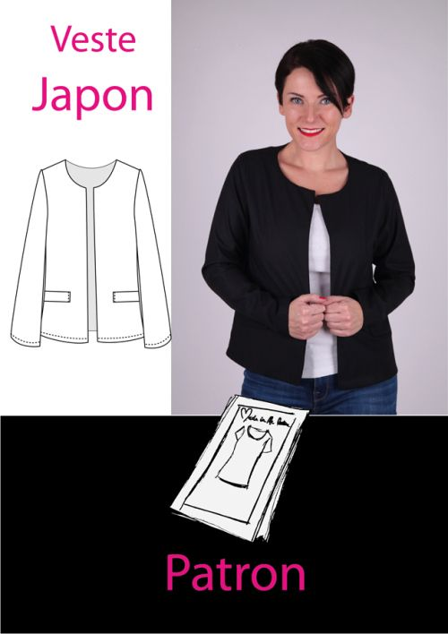 veste Japon de made in me couture