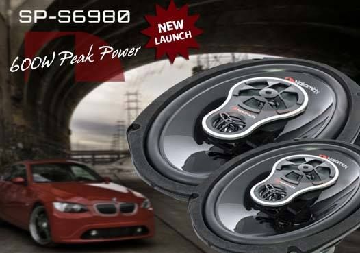 """Reach your peak with our NEW Nakamichi SP-S6980:  6x9"""" 3 Way Full Range Tri-axial Speaker 80W RMS 600W Peak Power ASV 25.5m Voice coil 45Hz - 20KHz Frequency Response 91db Sensitivity 82mm Mounting Depth  #NakamichiSA #CarAudio #InCarEntertainment #Speakers"""