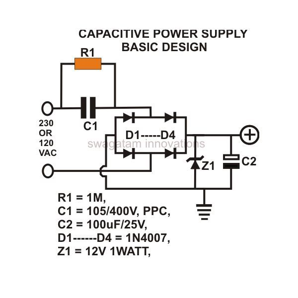 Are you tired of including bulky transformers to power smaller circuits? Two simple and useful configurations of small and compact power supplies using high voltage capacitors are discussed here, as well as one attempted - and failed - experiment. The first one though very compact is not spike free and not isolated from AC mains, therefore is not very practical. The second one is able to cancel of the spikes but still is dangerous as it's not free from electric shock. The last one, was hoped…