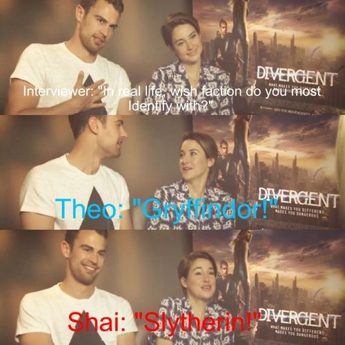 OMG! Theo and Shai like Harry Potter??? THIS IS WHY THEY'RE AWESOME!!