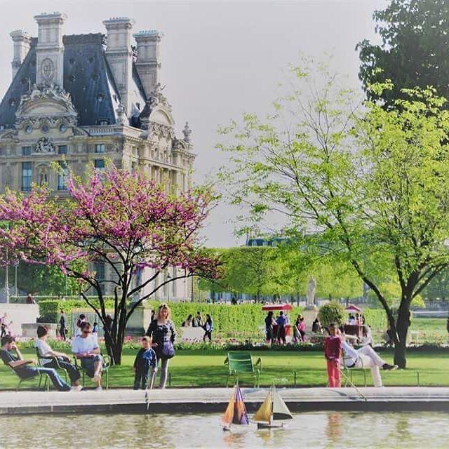Jardin des Tuileries #paris #france #travel #explore #jardin #gardens #jardindestuileries #spring #april #lake #relax #momentsintime #melbournelifelovetravel #visitparis #visitfrance #beautiful #spectacular #picturesque #lake