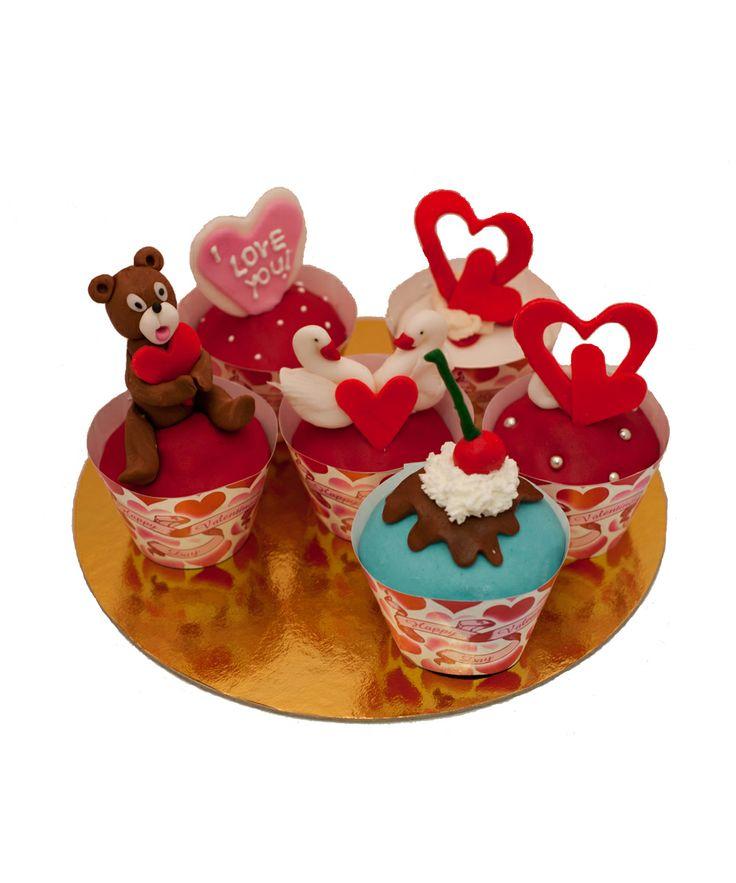 Cupcake Valentine's Day