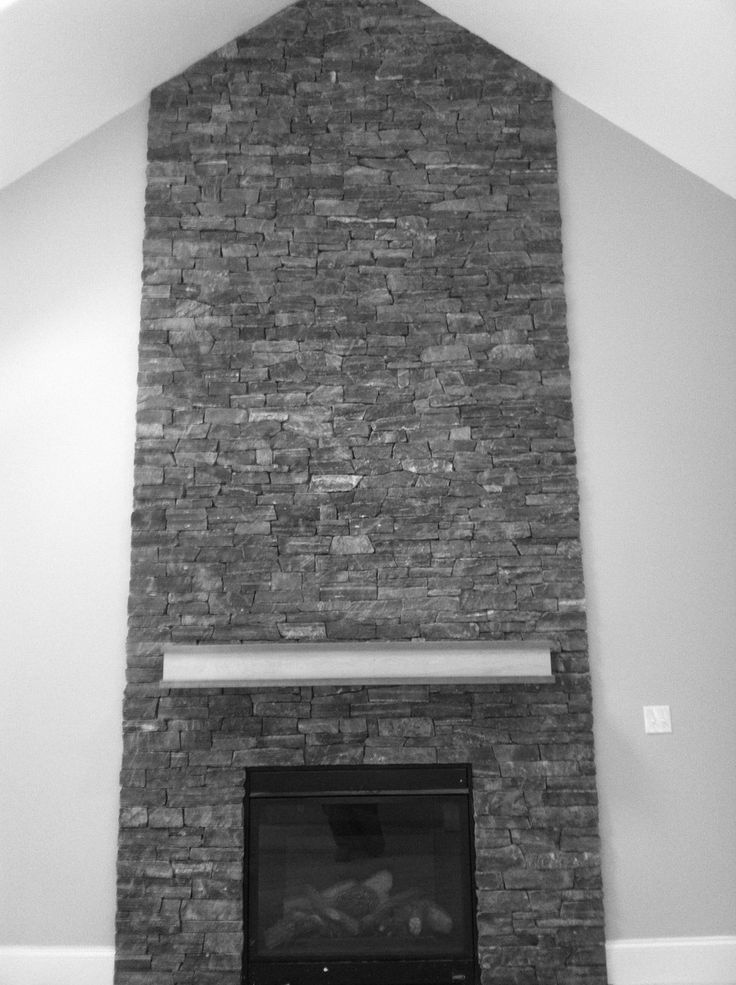 1000 Ideas About Stone Fireplace Mantles On Pinterest