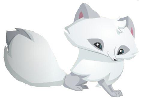arctic fox aj | The Animal Jam Whip: Arctic Fox Graphic