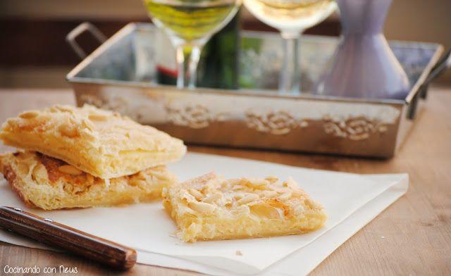 Neus cocinando con Thermomix: Coca de hojaldre rellena de crema pastelera