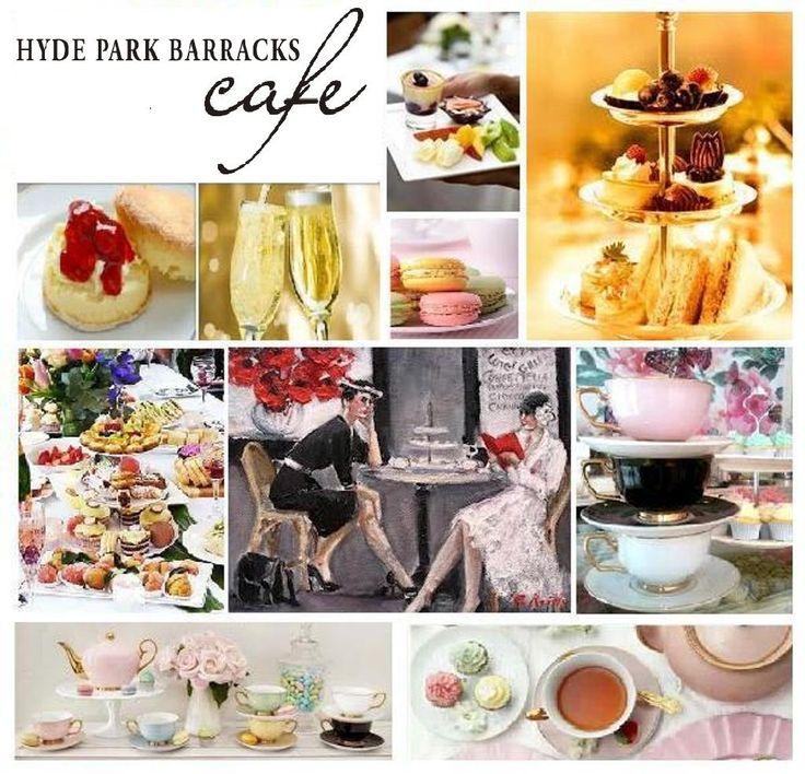 high tea in hyde park barracks for good food month