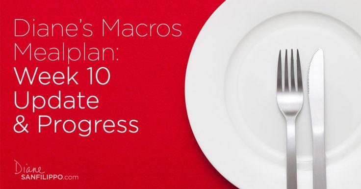 Diane's Macros Meal Plan Update, Week 10 | Diane Sanfilippo