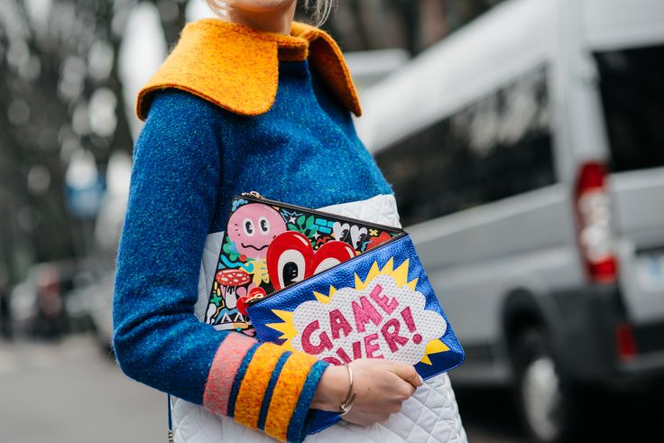 Street Style en Milan Fashion Week, febrero 2015 © Soren Jepsen