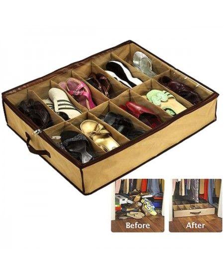 Daca te-ai saturat sa ai toate perechile de incaltaminte aruncate prin casa si vrei sa le organizezi cu cel mai mic efort si la cele mai mici costuri ....Organizatorul de #Pantofi este solutia!