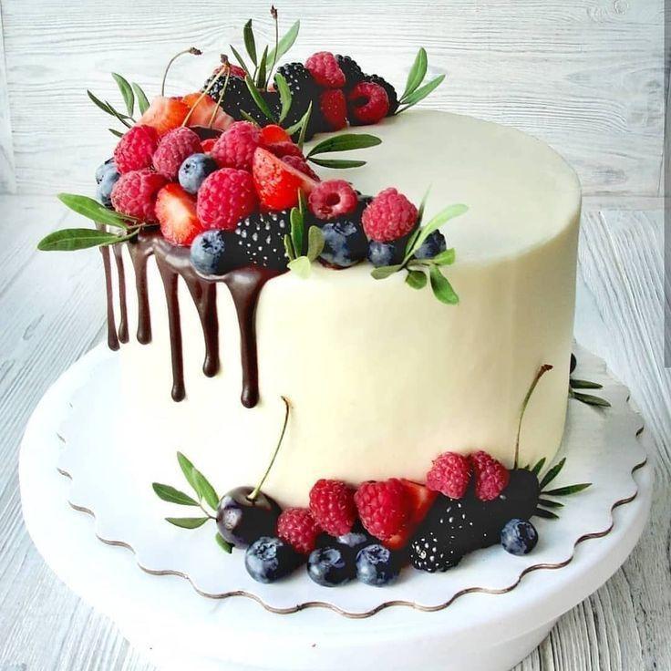 Geburtstagstorte für Anfänger – Easy Birthday Cake Decorating Ideas – #Ne … …   – Cupcake Rezepte