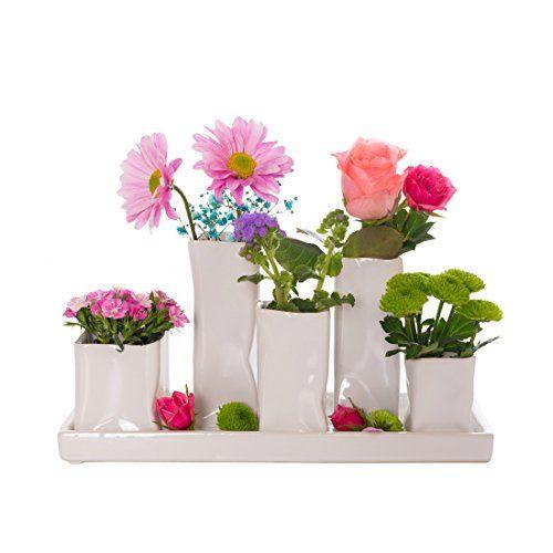 Die besten 25+ weiße Vasen Ideen auf Pinterest Spritzlackiertes