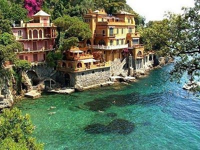 Mediterranean off the coast of ItalyPortofino Italy, Buckets Lists, Favorite Places, Beautifulplaces, Dreams House, Beautiful Places, Visit, Amazing Places, Travel