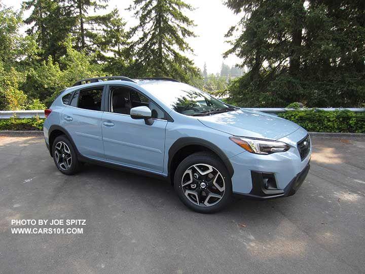 2018 Subaru Crosstrek Limited Cool Gray Khaki Color This Color Changes Depending On Sunlight Vs Shade Optional Body Side Subaru Crosstrek Subaru Dream Cars