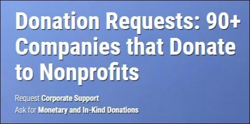545 best donation lists images on Pinterest Fundraising ideas