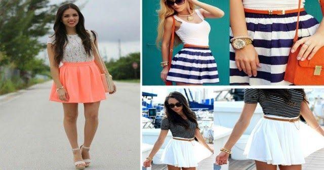 Μίνι φούστα: 15 υπέροχα καλοκαιρινά σύνολα