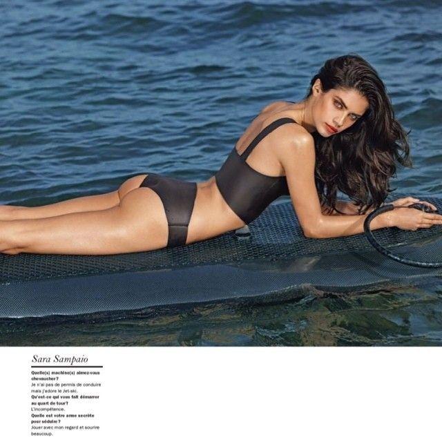 Regram from @sarasampaio  wearing WETBELLA and WETMiNi black Smooth in last issue of @luimagazine  #marksegal #fashion #instafashion #magazine #fashionphotography #luimagazine #lui #luxury #models #bikini #shooting #press #sarasampaio #cetusbiarritz #biarritz #neoprene #neoprenecollection